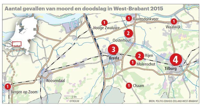 null Beeld Trouw. Bron: Politie-eenheid Zeeland-West-Brabant