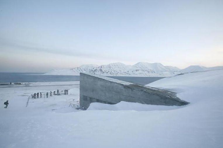 De Wereldzadenbank op Spitsbergen.  Beeld Reuters