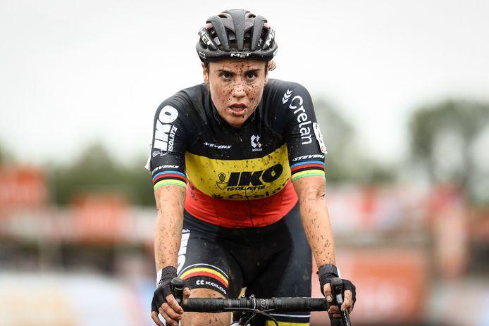 Van Belgisch kampioene Sanne Cant verwacht Klaas Vantornout niet veel meer.