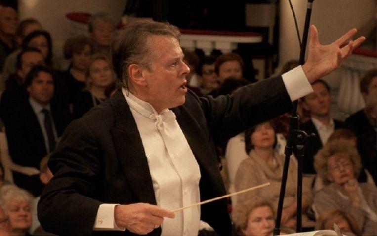 Orkestdirigent Mariss Jansons Beeld Cosbo Films