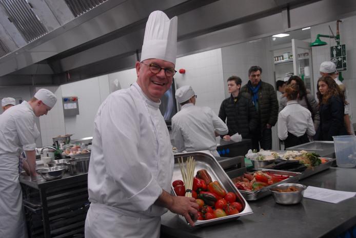 Chef-kok Marino de Bruijn.