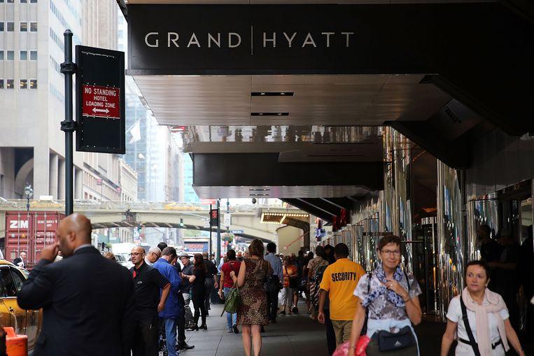 Grand Hyatt Hotel Beeld Spencer Platt