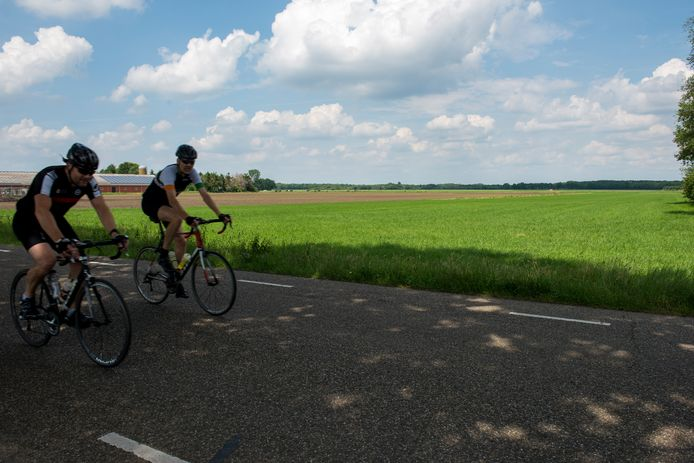 De locatie ten noorden van Wintelre (bij de Oirschotsedijk) die het college van Eersel heeft aangewezen voor de ontwikkeling van een groot zonnepark.