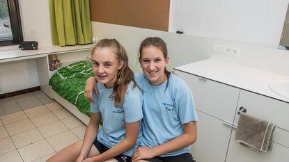 Kamers meisjesinternaat sportschool in het nieuw
