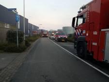 Brand bij bedrijf Texperium in Haaksbergen
