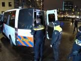 Tientallen boetes en arrestaties bij avondklokprotest in Rotterdam