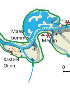 Oorlogshandelingen bij Maas tot in detail uitgeplozen