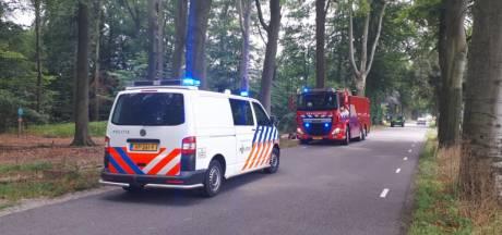 Wéér brand in Winterswijkse natuur, vermoeden van brandstichting