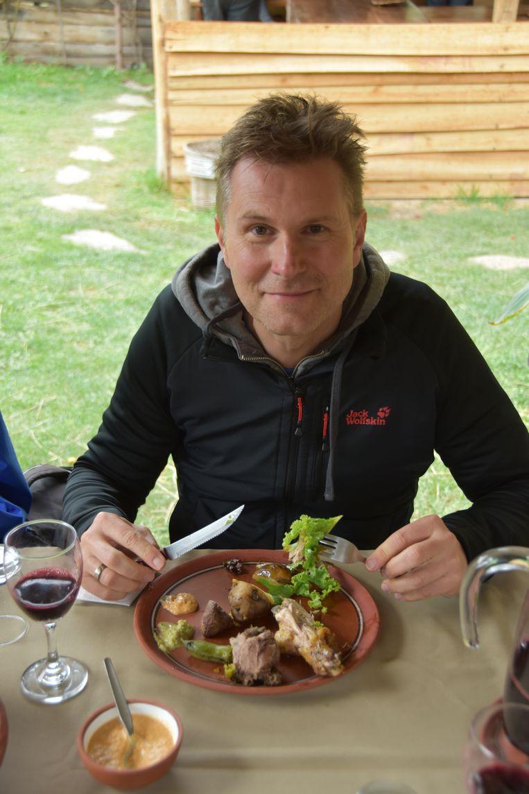 Wim De Vilder in Peru