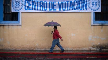 Tweede ronde nodig bij presidentsverkiezingen Guatemala