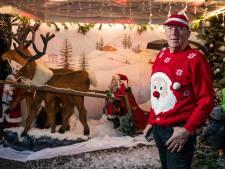 Hengeloër Gerrit Prinsen (77) bouwt voor de laatste keer een kersttuin