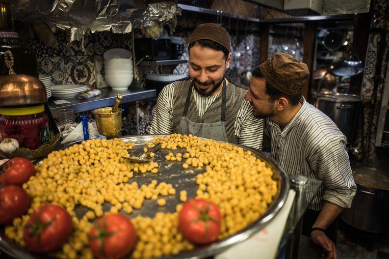 Syriërs kunnen in Turkije eenvoudig een winkel of restaurant beginnen.  Beeld Nicola Zolin