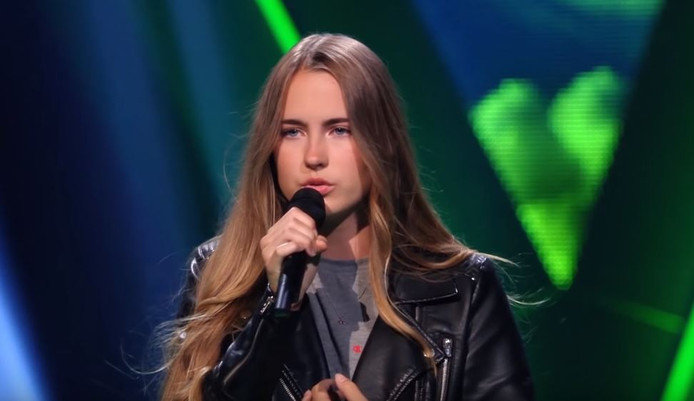 Jet van der Steen blind audition