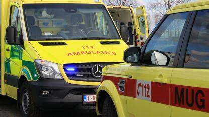 Vier gewonden bij ongeval met drie voertuigen