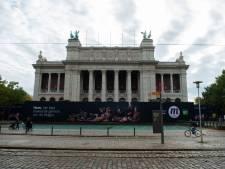 Voorgevel Museum voor Schone Kunsten is verlost van stellingen