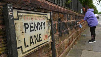 Ook 'Beatles-straat' Penny Lane moet het ontgelden tijdens protest
