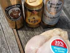 Winkeldief steelt bier en kip in Goor