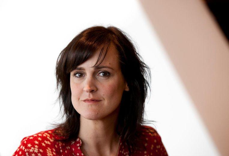 Presentatrice Janine Abbring Beeld anp