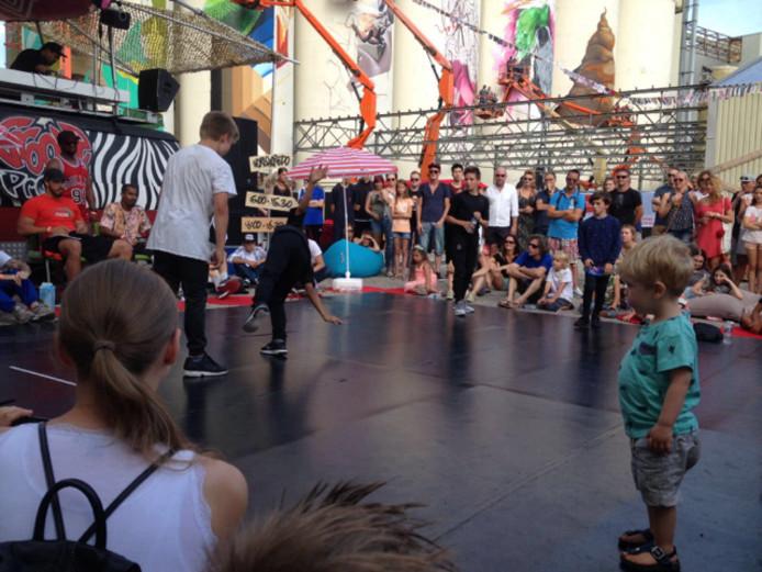 Foto's Guus en Lorenzo wonnen in Den Bosch de battle voor Kids tot 13 jaar.