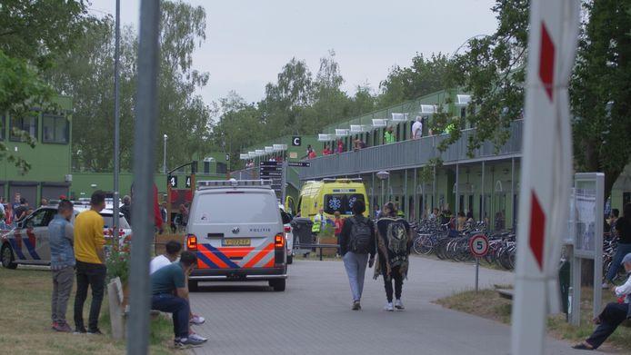Op het azc in Harderwijk heeft woensdagavond een steekincident plaats gevonden.