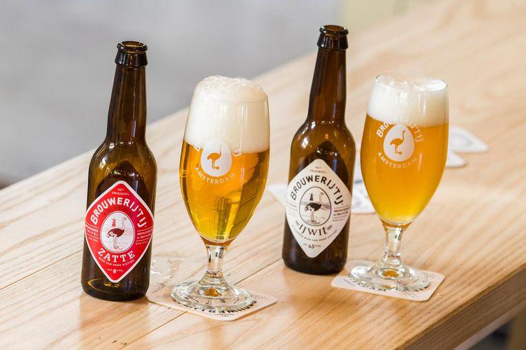 Brouwerij t IJ is een van de lokale brouwerijen op het festival Beeld anp