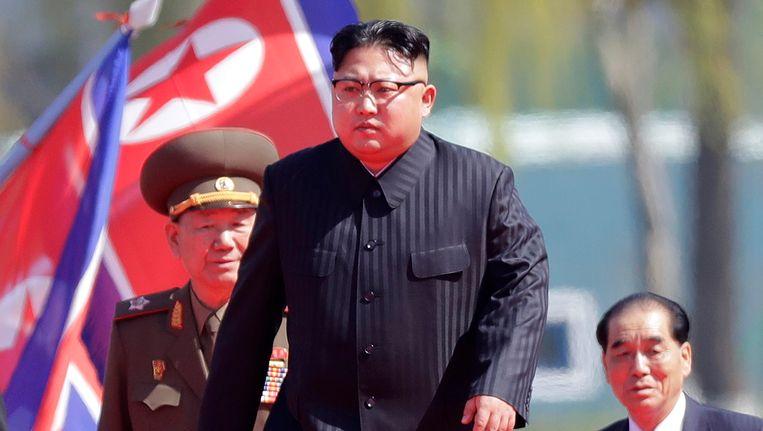 De Noord-Koreaanse leider Kim Jong-un gaf het bevel voor de zesde kernproef.