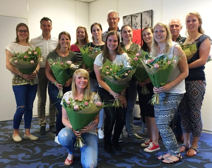 De nieuwe leerkrachten die bij Skipov in dienst komen.