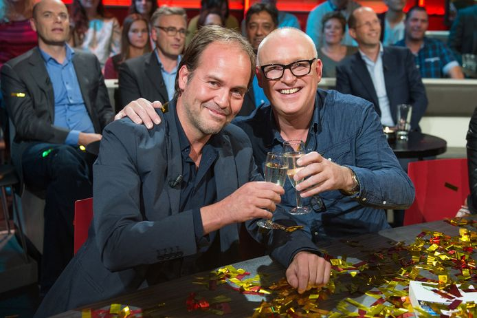 Michel van Egmond en René van der Gijp.
