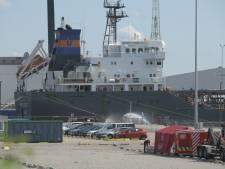 """Brand op tanker in Antwerpse haven: """"Geen gevaar voor omgeving"""""""