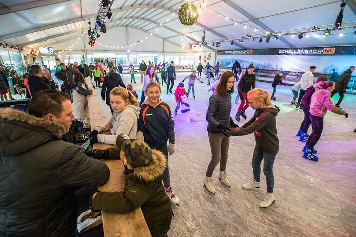 Nieuwe locatie voor 't Veerse IJsplein: de sportvelden aan de Eendrachtsweg.