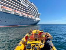 Jammer of blij? Cruiseschepen voor kust van Scheveningen zijn weg en liggen nu in rustig vaarwater