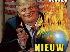 Donald Trump komt naar Nederland als stripheld
