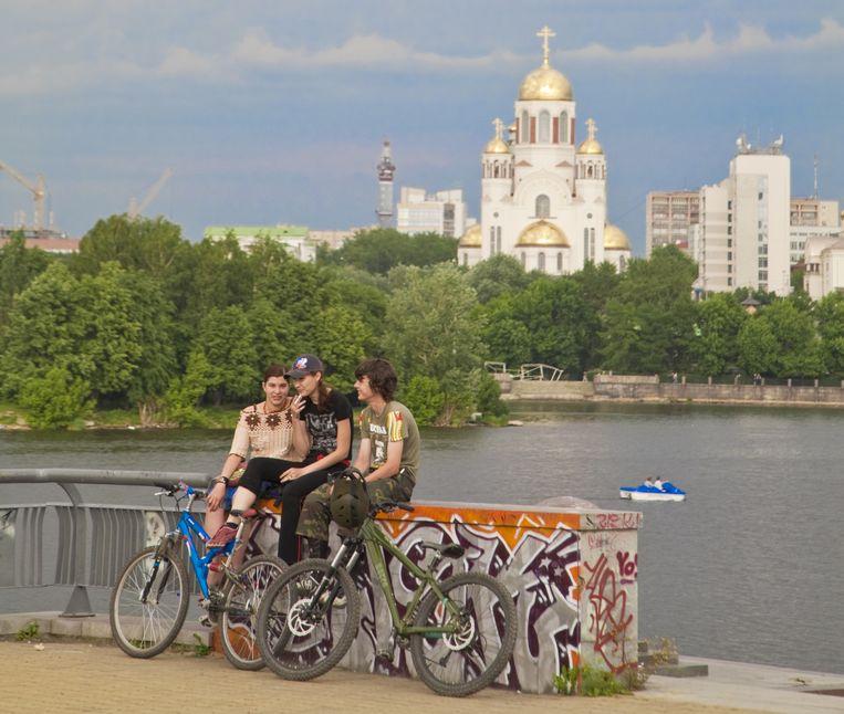 De rivier de Iset bij Jekaterinenburg. Beeld Getty Images/Lonely Planet Images