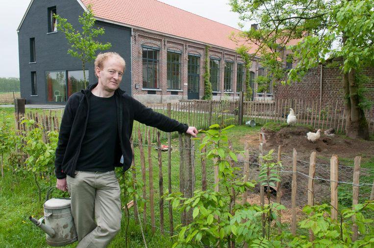 Erwin Eeraerts uitbater van jeugdverblijf Oud Klooster.