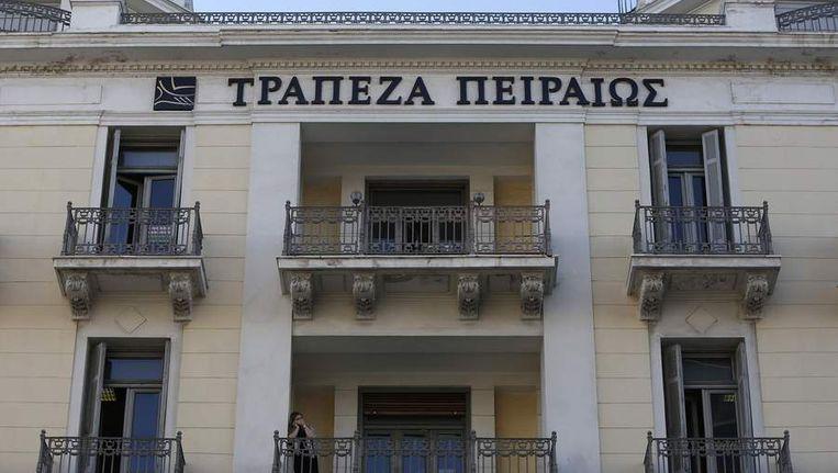 Piraeus bank Beeld reuters