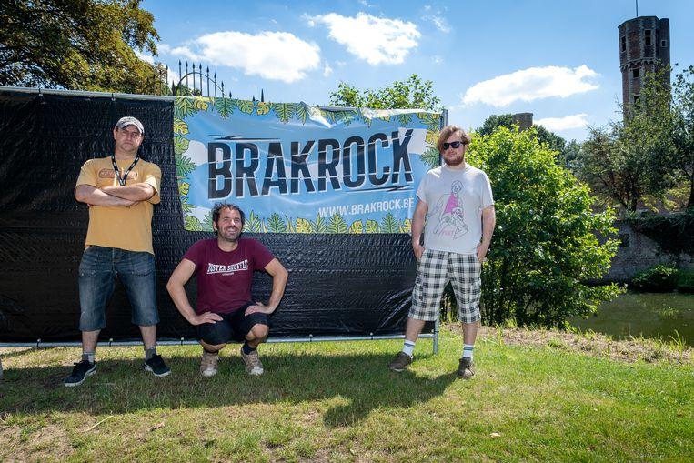 DUFFEL - Anders Herrebaut, Kim Vervoort en Vino Penske organiseren Brakrock rond Kasteel Ter Elst