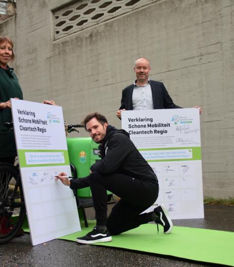 Netwerk Schone Mobiliteit in Cleantech Regio groeit