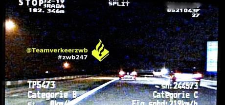 Snelheidsduivel signaleert met lichten naar slome automobilisten, maar ook agenten die zijn rijbewijs later innemen