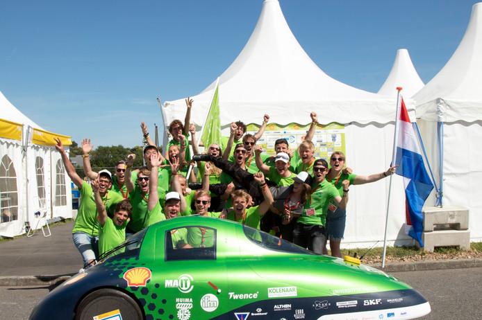 Het winnende Green Team Twente