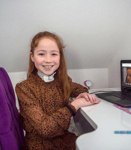 Kinderen zien ook nu lichtpuntjes: 'Gelukkig heeft het wel gesneeuwd'