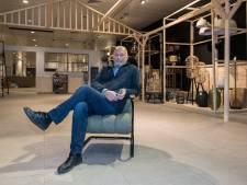 Wanneer opent Frans Oosterbaan zijn woonwinkel in de V&D?  'Als het klaar is'