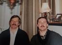 Dolf en Frans net voor de transplantatie in 1995.