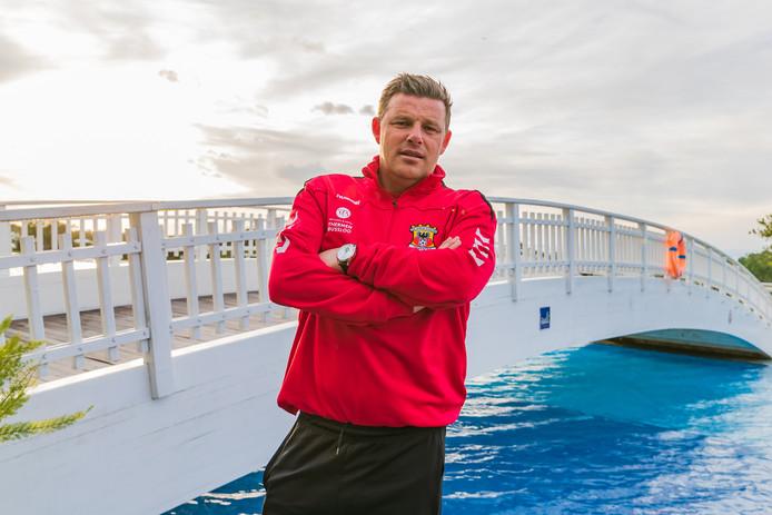 Trainer John Stegeman is met Go Ahead Eagles in Belek.