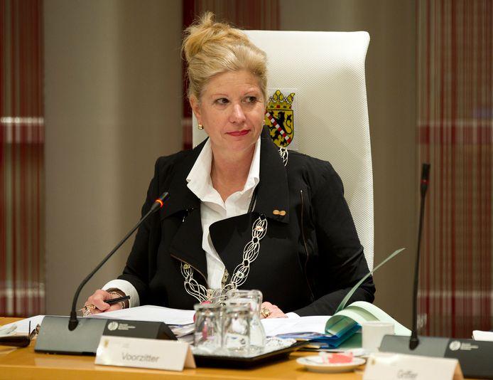 Archieffoto: Voormalig burgemeester Wilma Verver van Schiedam.