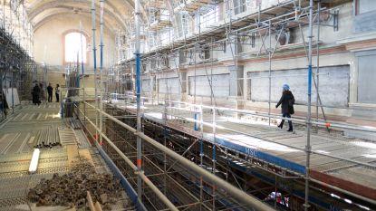 Mechelse bouwwerven worden opnieuw opgestart