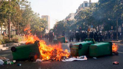Klimaatmars in Parijs geïnfiltreerd door duizend ultralinkse activisten: winkels binnengedrongen, vuilnisbakken in brand