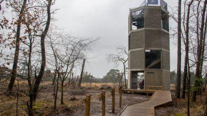 """Natuurpunt opent eerste uitkijktoren op Kalmthoutse Heide: """"Nieuw perspectief op natuurpracht"""""""