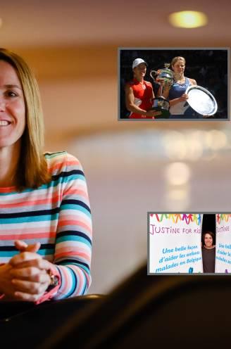 """Tien jaar geleden stopte Henin abrupt met tennis, 'Tien Werken' gaven haar nieuwe leven vorm: """"Mama is de mooiste, maar moeilijkste rol"""""""