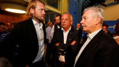 Jean-Jacques De Gucht (Open Vld), Christoph D'Haese (N-VA) en Sarah Smeyers (N-VA) zijn de Aalsterse verkozenen