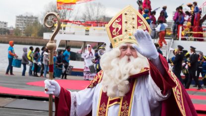 Sinterklaas ook in districten op bezoek bij brave kindjes